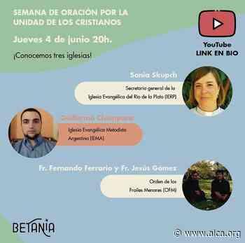 Actividades del grupo Betania para la Semana de Oración por la Unidad de los Cristianos - AICA.org - Aica On line