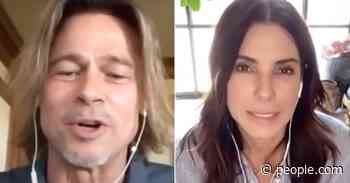 Watch Brad Pitt and Sandra Bullock Surprise Essential Workers During Unsung Heroes Special - PEOPLE