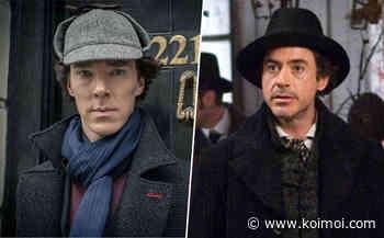 When Benedict Cumberbatch's Sherlock Series Creator Said Robert Downey Jr's Accent As The Detective Is Sh*t! - Koimoi