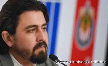 Amaury Vergara encara a reportero en conferencia de prensa | El Universal - El Universal