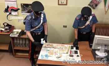 None: arrestato biker spacciatore, nascosti sulla moto un panetto di hashish e 9mila euro in contanti - L'Eco del Chisone