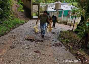 Continúa la entrega de apoyos a familias de bajos recursos en Nanchital - Imagen del Golfo
