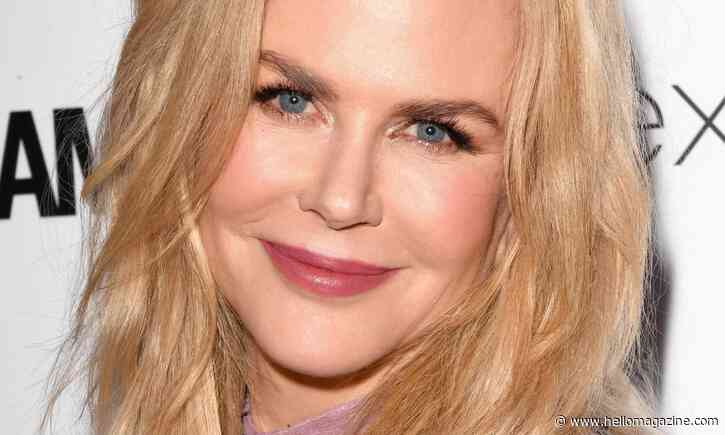 Nicole Kidman transforms appearance embracing natural curly hair in latest lockdown photo - HELLO!