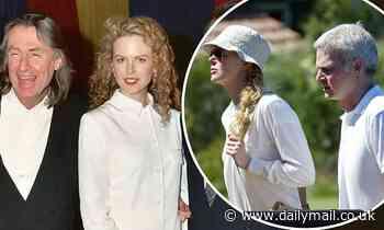Nicole Kidman's day of heartbreak: Star's friend Steve Bing and mentor Joel Schumacher die - Daily Mail