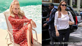 Take Inspiration From Nicole Kidman And Angelina Jolie's Summer Outfits To Beat The Heat - IWMBuzz