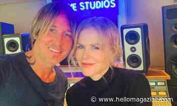 Nicole Kidman shares rare photo of daughters Sunday and Faith bonding with dad Keith Urban - HELLO!