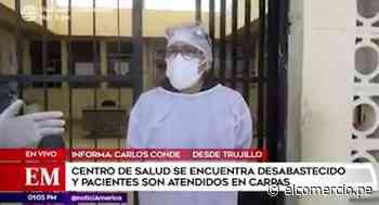Trujillo: centro de salud de Paiján atiende a pacientes COVID-19 en carpas - El Comercio Perú