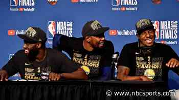 What KD learned from Draymond, Iguodala while with Dubs - Comcast SportsNet Bay Area