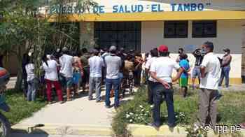 Piura: Pobladores de El Tambo protestan y exigen mejor atención para pacientes con la COVID-19 - RPP Noticias