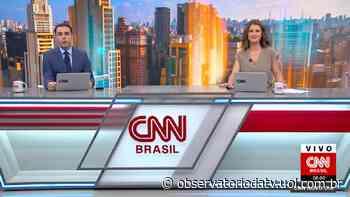 Rafael Colombo estreia no comando do Novo Dia, na CNN Brasil - Observatório da TV