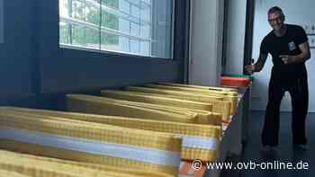 Übung am Kissen statt am Brett: Rosenheimer Taekwondo-Schüler legen Prüfung online ab - Oberbayerisches Volksblatt