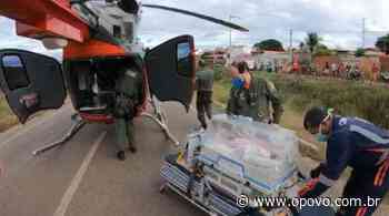 Gêmeas prematuras são levadas de helicóptero para hospital no Ceará - O POVO