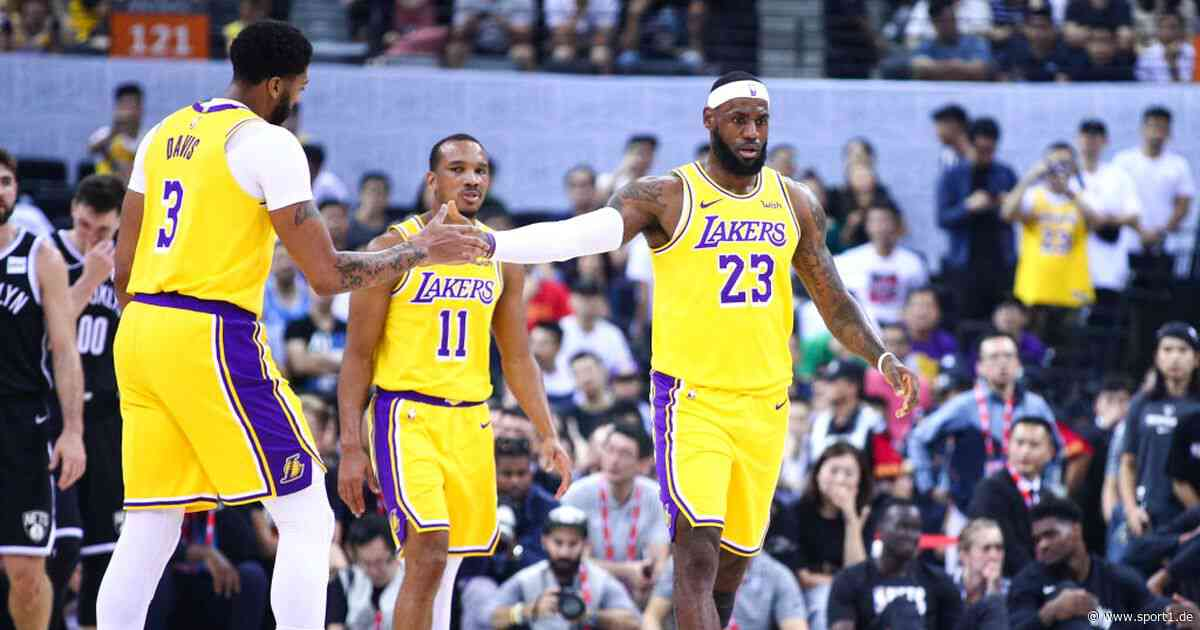 NBA: Los Angeles Lakers um LeBron James ohne Avery Bradley - kommt J.R. Smith? - SPORT1