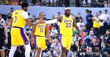 NBA: Los Angeles Lakers um LeBron James ohne Avery Bradley - kommt J.R. Smith? - SPORT1