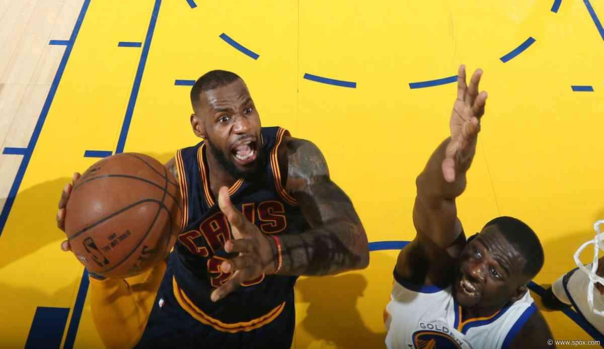 NBA News: Draymond Green bezeichnet LeBron James als den GOAT - SPOX.com