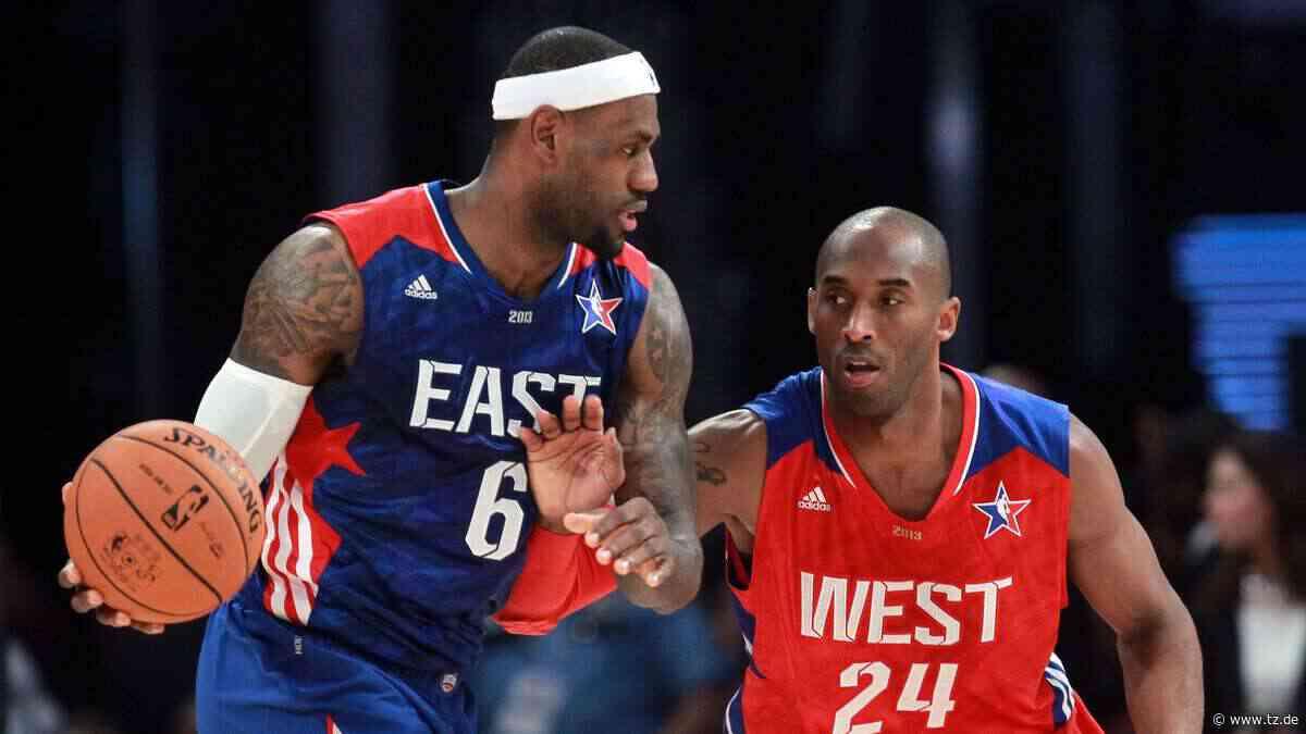 """Kobe Bryant (+41) tot: LeBron James: """"Fange jedes mal an zu weinen"""" - tz.de"""