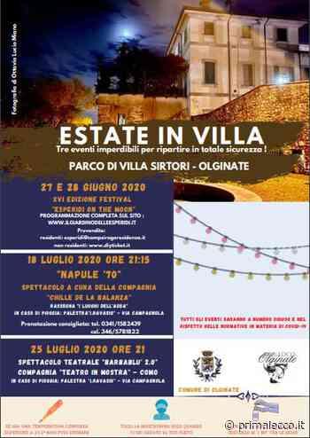 Estate in Villa: riparte la cultura a Olginate - Prima Lecco