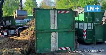 Polizei - Schwarzenbek: Lkw verliert Container - Lübecker Nachrichten