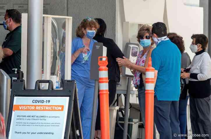 Rebrote en EEUU: el estado de Florida volvió a superar los 3.000 casos diarios de coronavirus - infobae