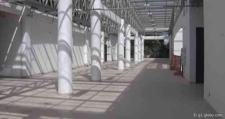 Em obras há seis anos, Shopping Popular de Rio Branco tem entrega prevista para agosto - G1