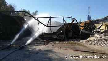 Schade na brand bij Gebo is aanzienlijk