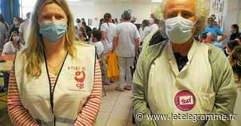 Forte mobilisation des soignants de la Fondation Ildys à Perharidy - Le Télégramme