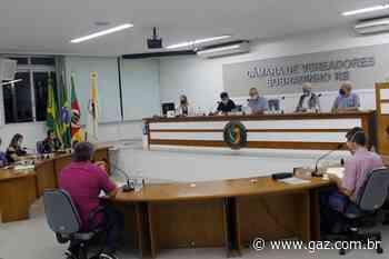 Vereadores de Sobradinho se reúnem na 15ª sessão da Câmara - GAZ