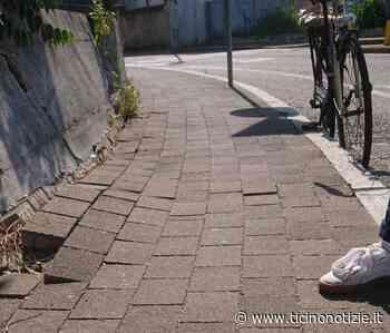 """Magenta, anziana inciampa e cade. Un passante la soccorre: """"Quel marciapiede è dissestato"""" - Ticino Notizie"""