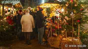 Weihnachtsmarkt 2020 in Drensteinfurt-Rinkerode wegen Coronavirus-Pandemie abgesagt - Westfälischer Anzeiger