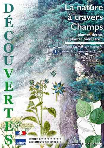 La nature à travers Champs, visite botanique Château de Champs-sur-Marne mercredi 8 juillet 2020 - Unidivers