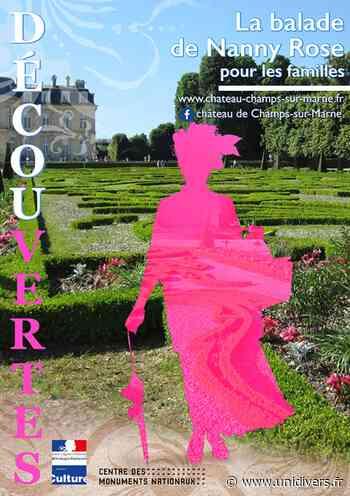 La balade de Nanny Rose Château de Champs-sur-Marne samedi 4 juillet 2020 - Unidivers
