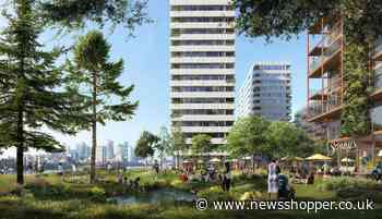 Huge plans for Morden Wharf development lodged at Greenwich - News Shopper