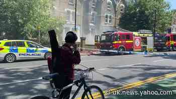 Firefighters on scene at house fire in Haringey, north London - Yahoo News UK