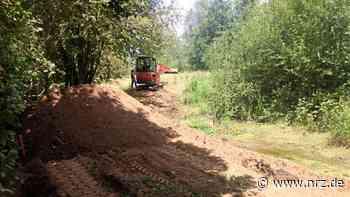 Kamp-Lintfort: Bauarbeiten an der Kleinen Goorley gestartet - NRZ