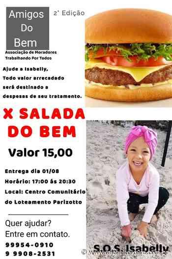 Capinzal: Entidades promovem X SALADA DO BEM em prol de menina com câncer - Michel Teixeira
