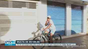 Prefeitura de Morro Agudo vai multar morador flagrado sem máscara facial na pandemia da Covid-19 - G1