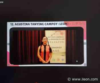 Una estudiante leonesa, ganadora nacional del concurso 'Puente a China' de Secundaria - ILEÓN.COM - ileon.com - Información de León