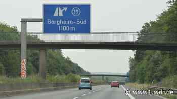 Baustelle bis Mitte August: A61 wird bei Bergheim gesperrt - WDR Nachrichten