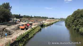 Comines-Warneton (B): vers une nouvelle voie fluviale au bord du futur «poumon vert» de la ville en 2022 - La Voix du Nord