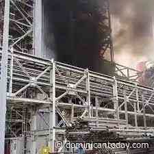 Smoke billows from Dominican Republic's Punta Catalina power plant - Dominican Today