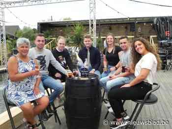 Zomerbar Bar D'Or al in eerste weekend succes