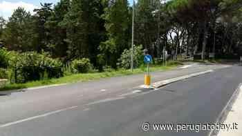 Strade sicure a Umbertide, nuovo asfalto in via Roma. Altri cantieri in programma - PerugiaToday