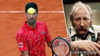 """Novak Djokovic: """"Pfosten"""" ohne Verantwortung - Krone.at"""