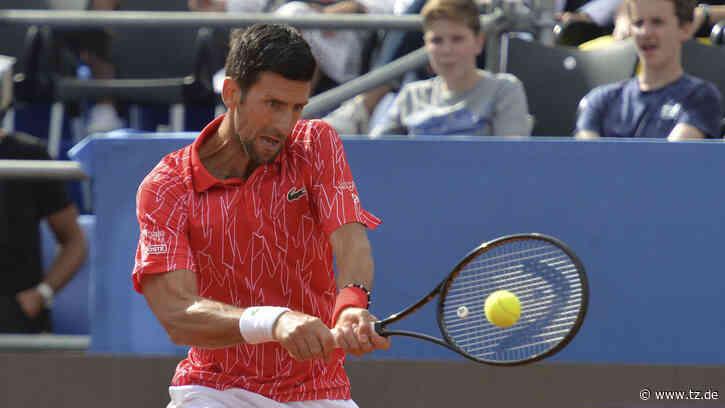 Novak Djokovic: Corona-Schock und heftige Attacken gegen Tennis-Star - tz.de