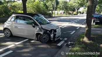 Auto komt tegen boom terecht in Barrier (Lommel) - Het Nieuwsblad