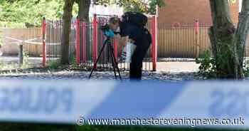 Large police cordon after boy, 13, stabbed on Salford estate - Manchester Evening News