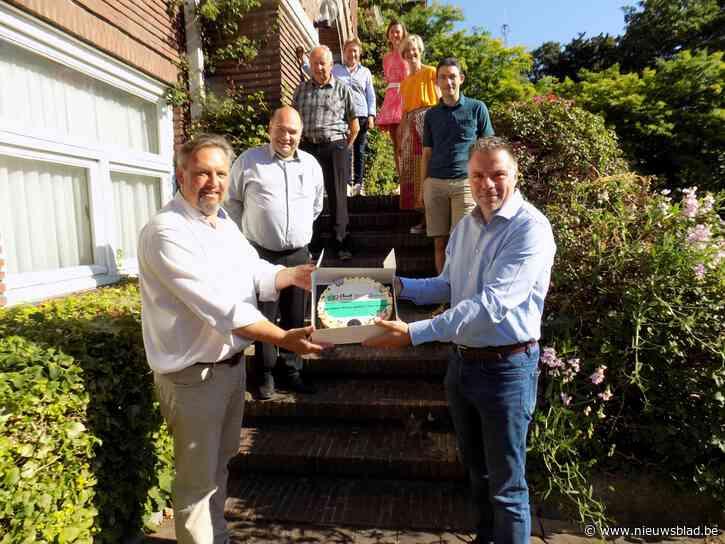 Unizo bedankt lokaal bestuur Beerse voor cadeaucheques