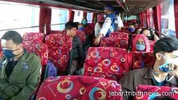 Bus AKAP Tujuan Jakarta Sudah Mulai Berangkat dari Terminal Guntur Garut - Tribun Jabar