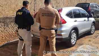Carro furtado no Rio Grande do Sul é recuperado em Nova Londrina - ® Portal da Cidade | Paranavaí