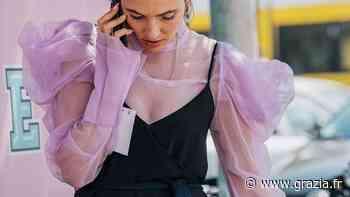 Organza, tulle, mesh : nos plus beaux looks tout en transparence repérés sur Pinterest - Grazia France